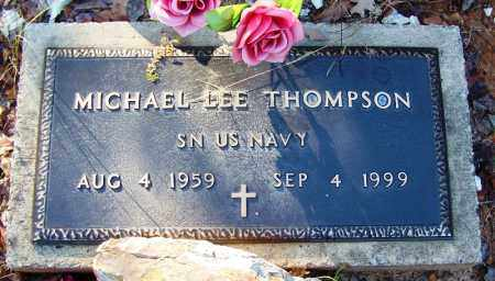 THOMPSON (VETERAN), MICHAEL LEE - Logan County, Arkansas | MICHAEL LEE THOMPSON (VETERAN) - Arkansas Gravestone Photos