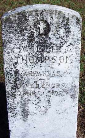 THOMPSON (VETERAN), WILLIE - Logan County, Arkansas | WILLIE THOMPSON (VETERAN) - Arkansas Gravestone Photos