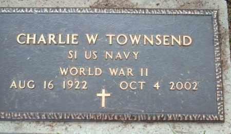 TOWNSEND (VETERAN WWII), CHARLIE  W - Logan County, Arkansas | CHARLIE  W TOWNSEND (VETERAN WWII) - Arkansas Gravestone Photos