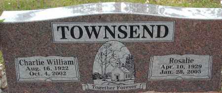 TOWNSEND, CHARLIE - Logan County, Arkansas | CHARLIE TOWNSEND - Arkansas Gravestone Photos
