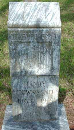 TOWNSEND, HENRY - Logan County, Arkansas | HENRY TOWNSEND - Arkansas Gravestone Photos