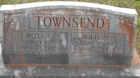 WILKINS TOWNSEND, ROSA - Logan County, Arkansas   ROSA WILKINS TOWNSEND - Arkansas Gravestone Photos