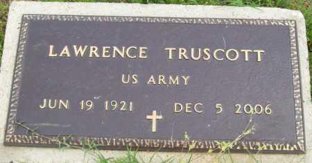 TRUSCOTT (VETERAN), LAWRENCE - Logan County, Arkansas | LAWRENCE TRUSCOTT (VETERAN) - Arkansas Gravestone Photos