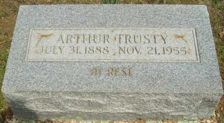 TRUSTY, ARTHUR - Logan County, Arkansas | ARTHUR TRUSTY - Arkansas Gravestone Photos