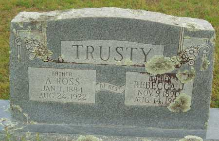 TRUSTY, A. ROSS - Logan County, Arkansas | A. ROSS TRUSTY - Arkansas Gravestone Photos
