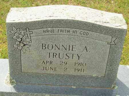 TRUSTY, BONNIE A. - Logan County, Arkansas | BONNIE A. TRUSTY - Arkansas Gravestone Photos