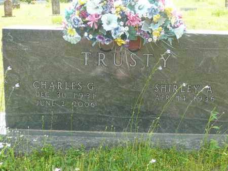 TRUSTY, CHARLES - Logan County, Arkansas | CHARLES TRUSTY - Arkansas Gravestone Photos