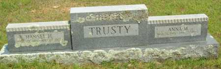 TRUSTY, HANSEL H. - Logan County, Arkansas | HANSEL H. TRUSTY - Arkansas Gravestone Photos