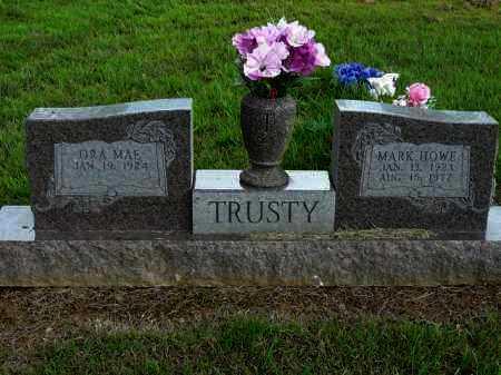 TRUSTY, MARK H - Logan County, Arkansas   MARK H TRUSTY - Arkansas Gravestone Photos