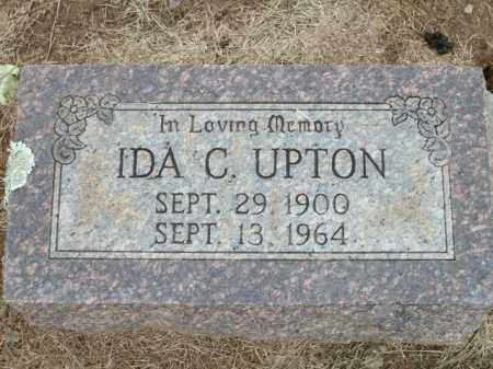 UPTON, IDA C. - Logan County, Arkansas   IDA C. UPTON - Arkansas Gravestone Photos