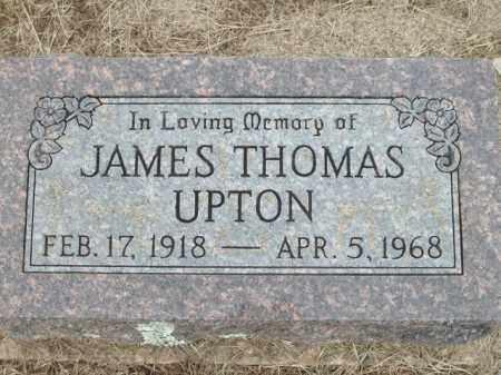 UPTON, JAMES THOMAS - Logan County, Arkansas   JAMES THOMAS UPTON - Arkansas Gravestone Photos