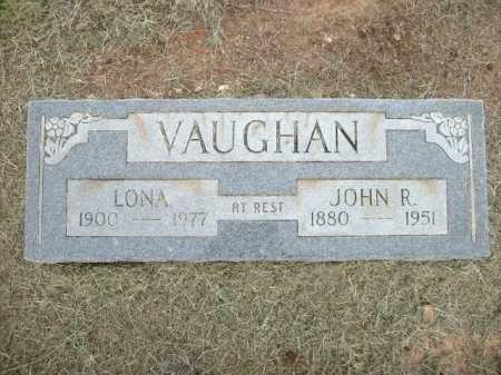 VAUGHAN, JOHN R. - Logan County, Arkansas | JOHN R. VAUGHAN - Arkansas Gravestone Photos