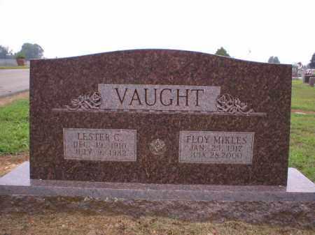 VAUGHT, LESTER - Logan County, Arkansas | LESTER VAUGHT - Arkansas Gravestone Photos