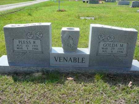 VENABLE, GOLDA - Logan County, Arkansas | GOLDA VENABLE - Arkansas Gravestone Photos