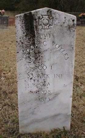 VOYLES (VETERAN CSA), JACOB C - Logan County, Arkansas | JACOB C VOYLES (VETERAN CSA) - Arkansas Gravestone Photos