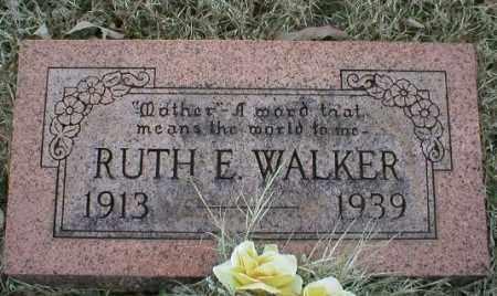 WALKER, RUTH E - Logan County, Arkansas | RUTH E WALKER - Arkansas Gravestone Photos