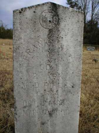 WALL (VETERAN CSA), FRANK - Logan County, Arkansas | FRANK WALL (VETERAN CSA) - Arkansas Gravestone Photos