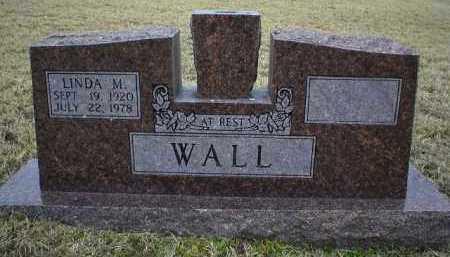 WALL, LINDA M - Logan County, Arkansas | LINDA M WALL - Arkansas Gravestone Photos