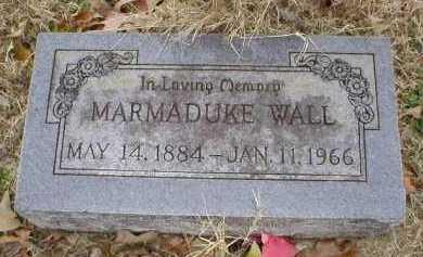 WALL, MARMADUKE - Logan County, Arkansas | MARMADUKE WALL - Arkansas Gravestone Photos