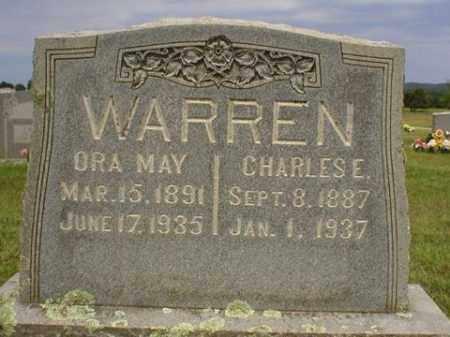 WARREN, ORA MAY - Logan County, Arkansas   ORA MAY WARREN - Arkansas Gravestone Photos