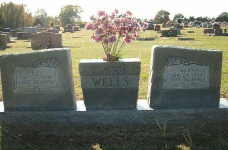 WELLS, ED - Logan County, Arkansas | ED WELLS - Arkansas Gravestone Photos