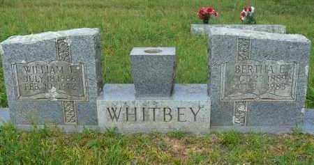WHITBEY, BERTHA - Logan County, Arkansas | BERTHA WHITBEY - Arkansas Gravestone Photos
