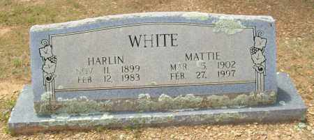 WHITE, HARLIN - Logan County, Arkansas | HARLIN WHITE - Arkansas Gravestone Photos