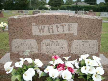 WHITE, MILDRED P. - Logan County, Arkansas | MILDRED P. WHITE - Arkansas Gravestone Photos