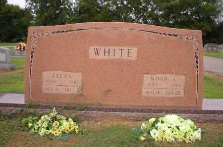 PENNICKS WHITE, ZELDA - Logan County, Arkansas | ZELDA PENNICKS WHITE - Arkansas Gravestone Photos