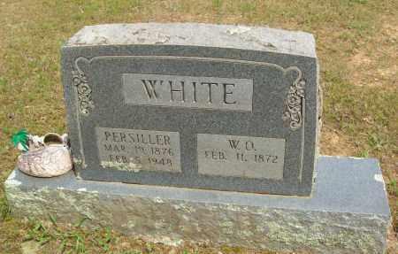 WHITE, PERSILLER - Logan County, Arkansas   PERSILLER WHITE - Arkansas Gravestone Photos
