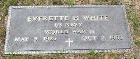 WHITE (VETERAN WWII), EVERETTE H - Logan County, Arkansas | EVERETTE H WHITE (VETERAN WWII) - Arkansas Gravestone Photos