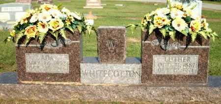 WHITECOTTON, LUTHER - Logan County, Arkansas | LUTHER WHITECOTTON - Arkansas Gravestone Photos