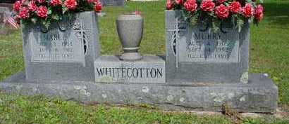 WHITECOTTON, LENLEY MURRY - Logan County, Arkansas | LENLEY MURRY WHITECOTTON - Arkansas Gravestone Photos