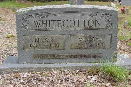 WHITECOTTON, ELLA S. - Logan County, Arkansas | ELLA S. WHITECOTTON - Arkansas Gravestone Photos