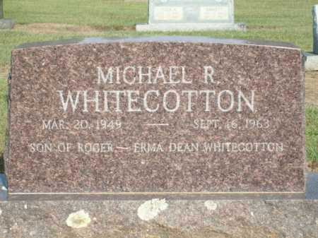 WHITECOTTON, MICHAEL R. - Logan County, Arkansas | MICHAEL R. WHITECOTTON - Arkansas Gravestone Photos