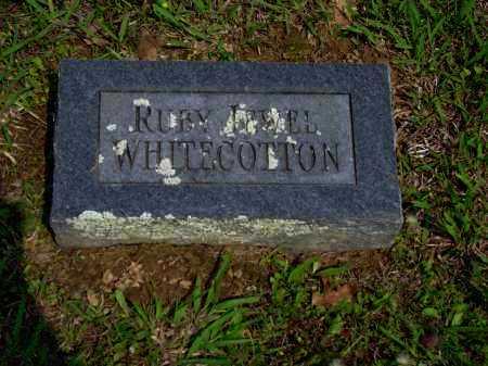 WHITECOTTON WHITECOTTON, RUBY JEWELL - Logan County, Arkansas | RUBY JEWELL WHITECOTTON WHITECOTTON - Arkansas Gravestone Photos