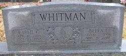 BARNARD WHITMAN, BELVA E. - Logan County, Arkansas | BELVA E. BARNARD WHITMAN - Arkansas Gravestone Photos