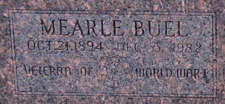WHITMAN (VETERAN WWI), MEARLE BUEL - Logan County, Arkansas | MEARLE BUEL WHITMAN (VETERAN WWI) - Arkansas Gravestone Photos