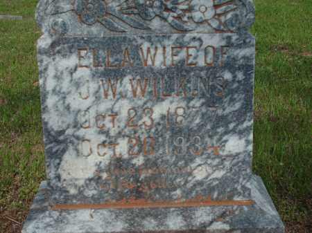 WILKINS, ELLA - Logan County, Arkansas   ELLA WILKINS - Arkansas Gravestone Photos