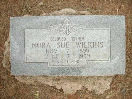 WILKINS, NORA SUE - Logan County, Arkansas   NORA SUE WILKINS - Arkansas Gravestone Photos