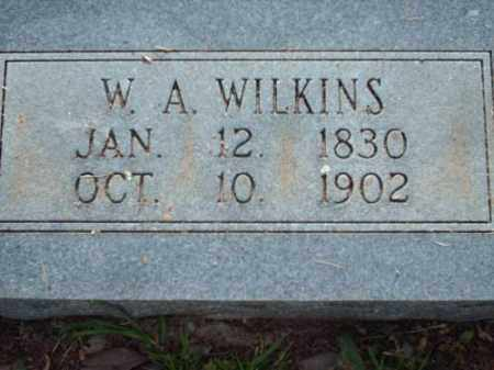 WILKINS, WILLIAM ANDERSON - Logan County, Arkansas | WILLIAM ANDERSON WILKINS - Arkansas Gravestone Photos