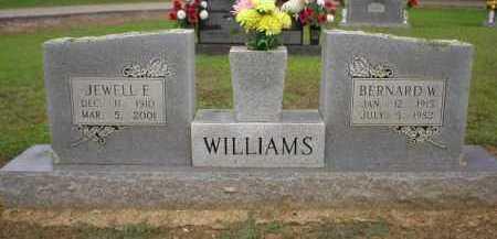 WILLIAMS, BERNARD - Logan County, Arkansas | BERNARD WILLIAMS - Arkansas Gravestone Photos