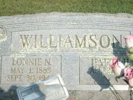 WILLIAMSON, LONNIE N - Logan County, Arkansas | LONNIE N WILLIAMSON - Arkansas Gravestone Photos