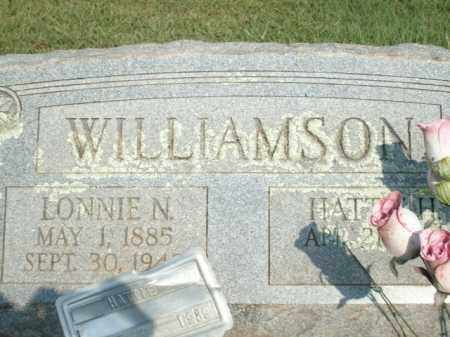 WILLIAMSON, HATTIE H - Logan County, Arkansas   HATTIE H WILLIAMSON - Arkansas Gravestone Photos