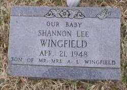 WINGFIELD, SHANNON LEE - Logan County, Arkansas | SHANNON LEE WINGFIELD - Arkansas Gravestone Photos
