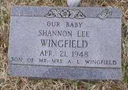 WINGFIELD, SHANNON LEE - Logan County, Arkansas   SHANNON LEE WINGFIELD - Arkansas Gravestone Photos