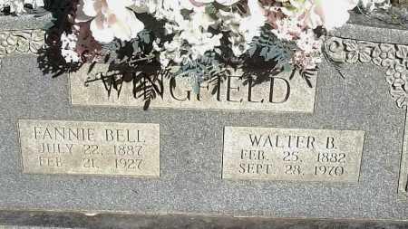 KIRK WINGFIELD, FANNIE BELL - Logan County, Arkansas | FANNIE BELL KIRK WINGFIELD - Arkansas Gravestone Photos