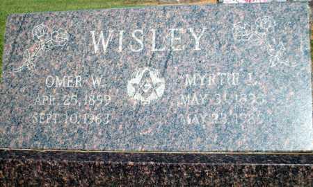 WISLEY, MYRTIE L - Logan County, Arkansas | MYRTIE L WISLEY - Arkansas Gravestone Photos