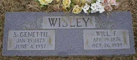 WISLEY, WILL F - Logan County, Arkansas | WILL F WISLEY - Arkansas Gravestone Photos