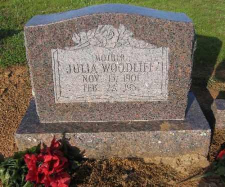 WOODLIFF, JULIA - Logan County, Arkansas   JULIA WOODLIFF - Arkansas Gravestone Photos